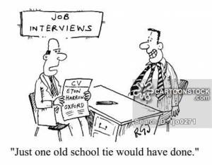 The old school tie